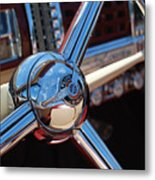 Chrysler Town And Country Steering Wheel Metal Print