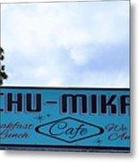 Chu - Mikals - Friendly Austin Texas Charm Metal Print