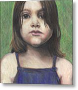 Chubby Cheeks Metal Print