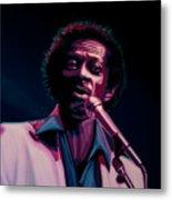 Chuck Berry Metal Print