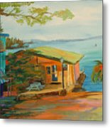 Chuck's On Lake Martin Metal Print
