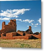 Church Abo - Salinas Pueblo Missions Ruins - New Mexico - National Monument Metal Print