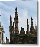 Church Architecture II  Nyc  Metal Print