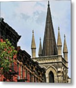 Church Architecture Older Nyc  Metal Print