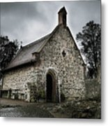 Church At Castle Frankenstein Metal Print