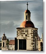 Church Bell Tower, Old Havana Metal Print