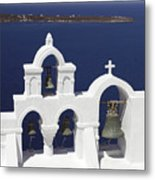 Church Bells And The Sea Metal Print