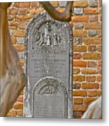 Church Cemetery Metal Print