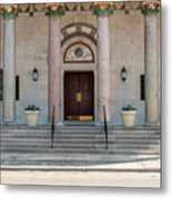 Church Doors Metal Print