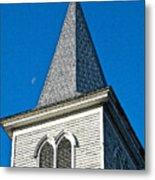 Church Drawing Metal Print