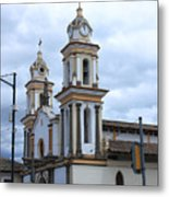 Church Facade Metal Print