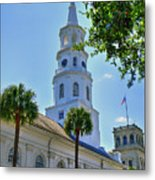 Church In Charleston Metal Print