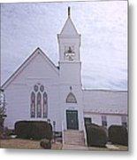 Church In Damascus Maryland Metal Print