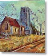 Church In Suffolk  Metal Print