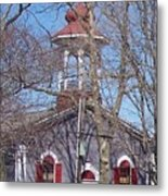 Church In Woods Metal Print