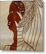 Church Lady 5 - Tile Metal Print