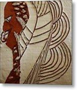 Church Lady 6 - Tile Metal Print