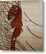 Church Lady 7 - Tile Metal Print