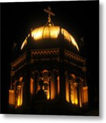 Church Lights Metal Print