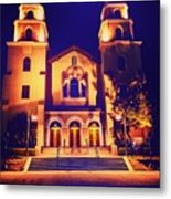 Church Night Metal Print