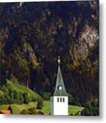 Church Of Bad Oberdorf  Metal Print