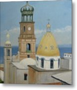 Church Of Gaudalupe Metal Print