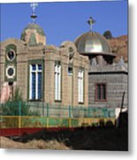 Church Of Our Lady Mary Of Zion Metal Print