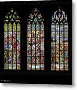 Church Of St. Barbara, Kuntna Hora, Czech Republic, Trilogy Metal Print