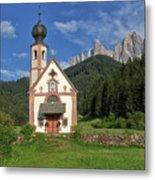 Church Of St. Johann In Ranui Metal Print