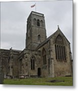 Church Of St. Mary's - Wedmore Metal Print