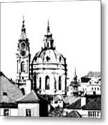 Church Of St Nikolas Metal Print