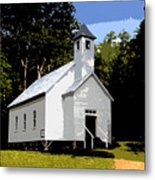 Church Of The Baptist Metal Print