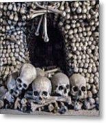 Church Of The Bones Metal Print
