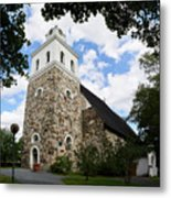 Church Of The Holy Cross At Rauma Metal Print