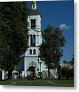 Church Of The Holy Mother Of God The Source Of Life At Tsaritsyno Park Metal Print