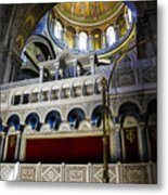 Church Of The Holy Sepulchre Interior Metal Print