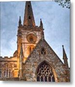Church Of The Holy Trinity Stratford Upon Avon 2 Metal Print