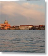 Church Of The Redentore In Venice Across The Giudecca Canal Metal Print