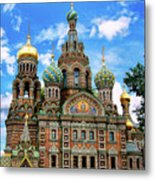 Church Of The Spilled Blood Metal Print