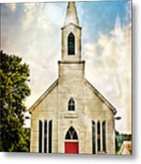 Church On 8 Metal Print