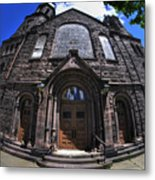 Church On Main St  Metal Print