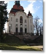 Church On The Hill Metal Print