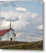 Church On The Hill Metal Print