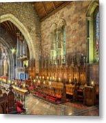 Church Organist Metal Print