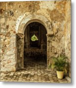 Church Ruins At El Rosario, Sinaloa Metal Print