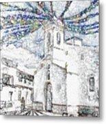 Church Square Metal Print