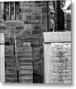 Church Steps Metal Print