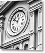 Church Time - St Louis Cathedral - New Orleans Metal Print