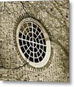 Church Window And Shadows 2 Metal Print