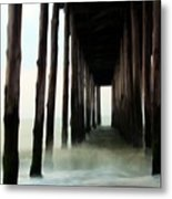 Churning Metal Print